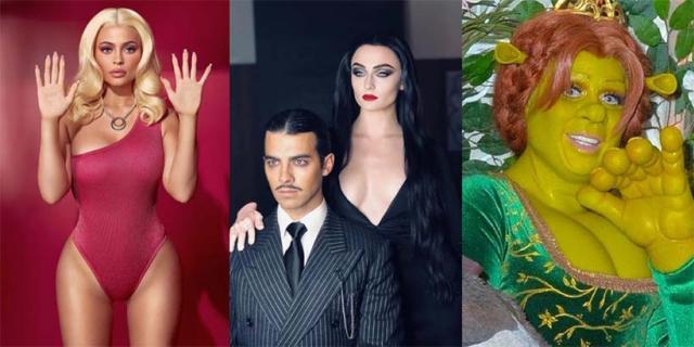 Rozpoznacie ich? Gwiazdy Hollywood i najlepsze stroje na Halloween 2018