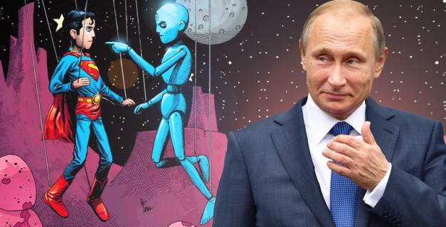 Komiks DC, wyciek i… Władimir Putin. Mała afera w Rosji