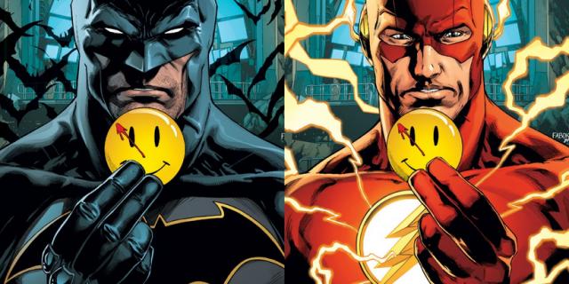 Batman/Flash – Przypinka – recenzja komiksu