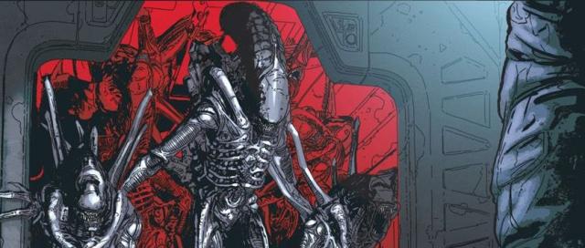 Aliens: Bunt i Biały Lama – zobacz plansze z premierowych komiksów