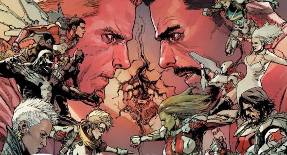 Tajne wojny. Wojna domowa – recenzja komiksu