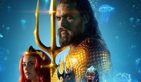 Aquaman – Pitbull i Africa zespołu Toto promuje film