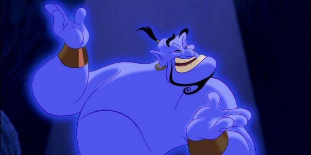 Aladyn – Will Smith jako niebieski dżin. Czy to szkic koncepcyjny?