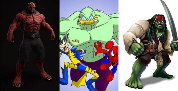 Fani MCU pokochali tę galerię. Hulk miażdży jako ikony popkultury