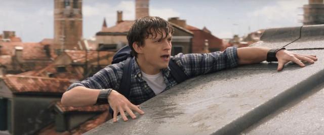 Spider-Man: Daleko od domu - wideo z nagrania muzyki. Nowe grafiki