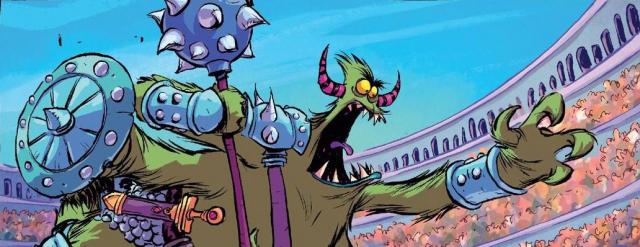 Komiksy z Non Stop Comics na styczeń. Obejrzyj plansze