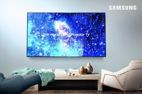 Samsung zaprezentował mniejszego, 75-calowego microLED-a