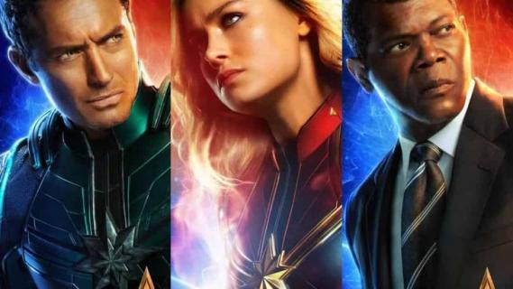 Kapitan Marvel – nowe klipy oraz plakat z bohaterką widowiska MCU