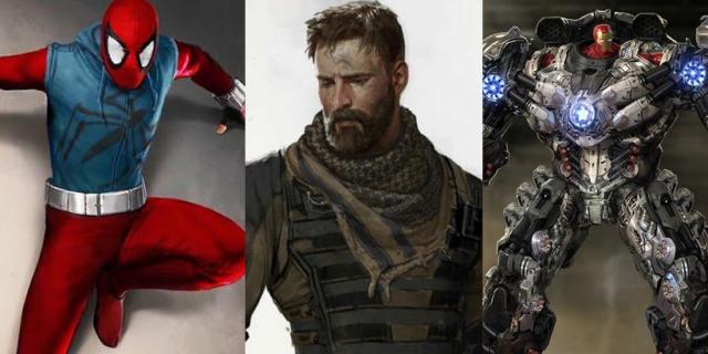 Avengers na tych szkicach wyglądają lepiej czy gorzej niż w MCU?