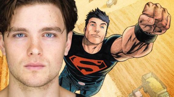 Titans - Superboy na zdjęciu z planu 2. sezonu