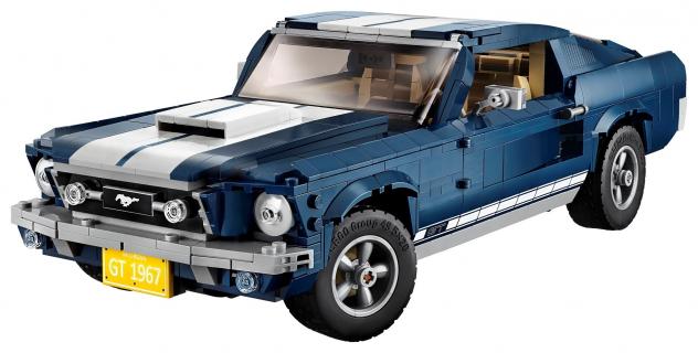 Ford Mustang z klocków LEGO. Zobacz zdjęcie nowego zestawu