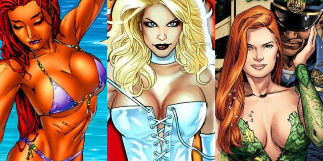 Seksapil to moc? Bohaterki komiksów w służbie… cielesności