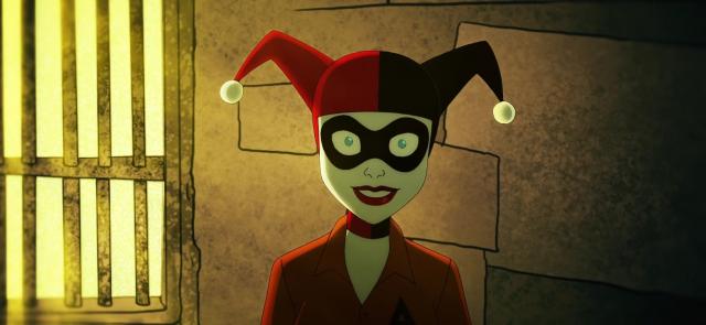Harley Quinn – oto Joker z serialu animowanego. Kaley Cuoco prezentuje zdjęcie