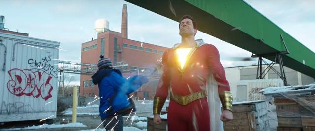 Shazam! – James Corden przejmuje moce herosa. Zobacz zabawne wideo