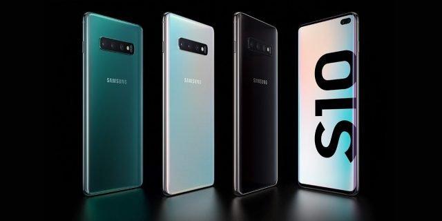 Samsung Galaxy S10+ w obiektywie naEKRANIE
