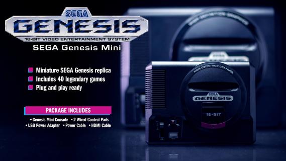 SEGA Genesis Mini – data premiery nowej minikonsolki