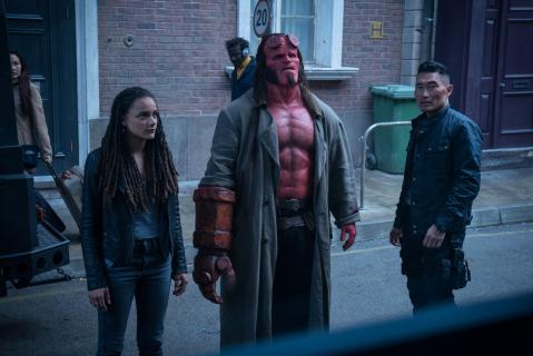 Hellboy – teaser z postaciami drugoplanowymi. Kim o kontrowersjach