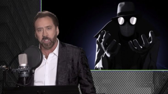 Spider-Man Uniwersum – Nicolas Cage podkłada głos. Zobacz nagranie