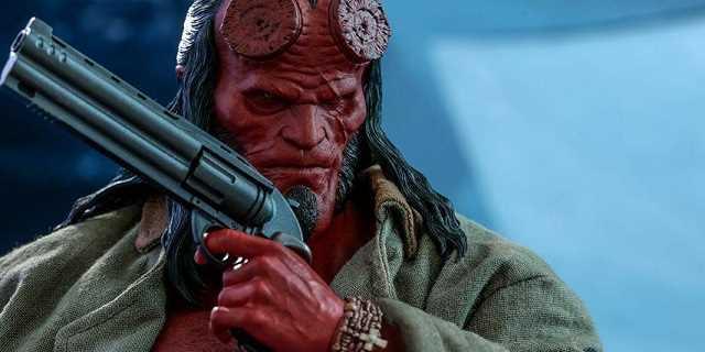 Hellboy jak żywy. Zdjęcia świetnie odwzorowanej zabawki