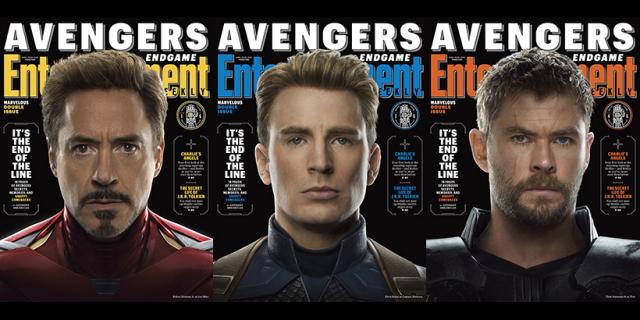 Avengers: Koniec gry - herosi MCU gotowi do boju z Thanosem. Oto nowe okładki