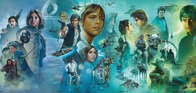 Gwiezdne Wojny 9 - mural ze Star Wars Celebration w pełnej okazałości. Zobacz zdjęcia