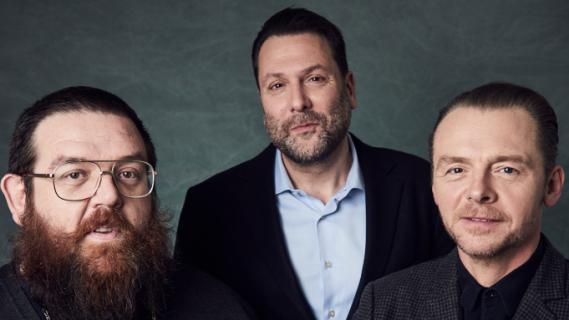 Simon Pegg i Nick Frost stworzą serial oparty o Rzeki Londynu