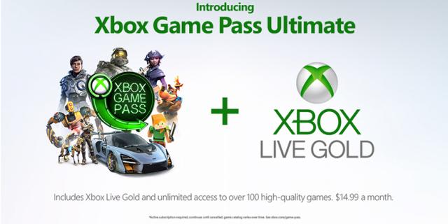 Xbox Game Pass Ultimate zapowiedziane. Microsoft ujawnia nową usługę