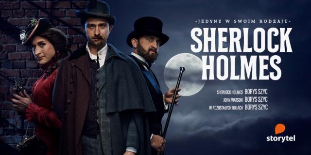 Sherlock Holmes - Borys Szyc jako detektyw w nowym audbiooku w Storytel