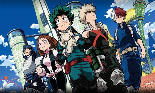 My Hero Academia - data premiery i zwiastun promujący 4. sezon
