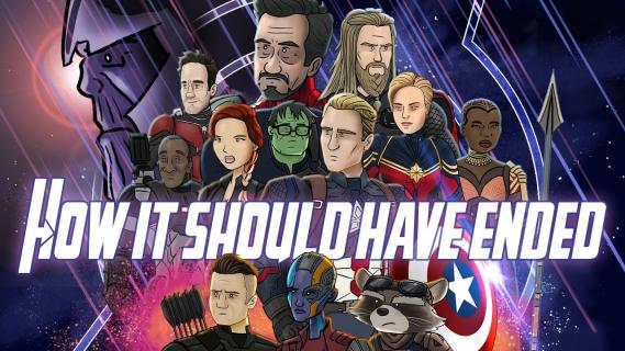 Avengers: Koniec gry - parodia filmu MCU. Tak powinien się skończyć