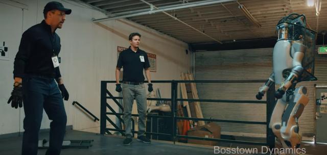 Robot z Boston Dynamics się buntuje. Fanowskie wideo