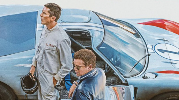 Ford v. Ferrari - Matt Damon i Christian Bale na oficjalnym plakacie filmu