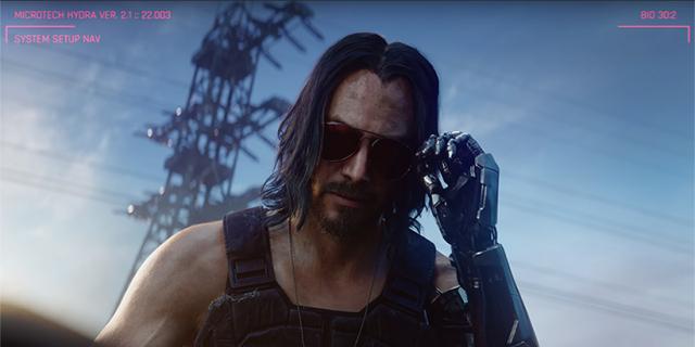 """Cyberpunk 2077: Keanu Reeves skradł show, ale to """"krzykacza"""" nagrodzi CD Projekt [E3 2019]"""