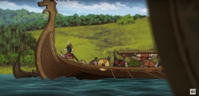 Saga Winlandzka - zwiastun serialu anime o wikingach. Efekciarsko!
