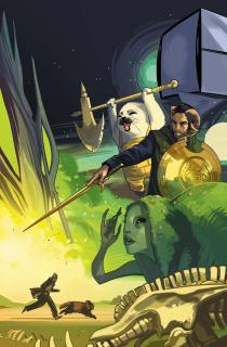 Saga - okładka zeszytu #25
