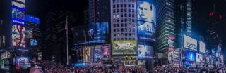 Times Square nigdy nie śpi