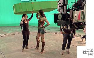 Wonder Woman zdjęcie z planu