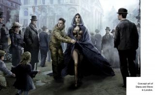 Wonder Woman szkic koncepcyjny