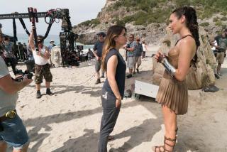 Wonder Woman - zdjęcie z planu