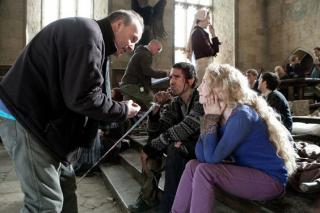 HarHarry Potter - zdjęcie z planu kultowej seriiry Potter i Insygnia Śmierci - zdjęcie z planu