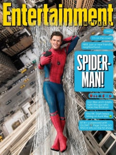 Spider-Man: Homecoming - okładka magazynu Entertainment Weekly