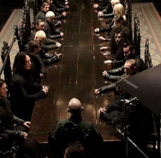 HHarry Potter - zdjęcie z planu kultowej seriiarry Potter i Insygnia Śmierci - zdjęcie z planu