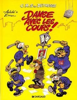 Danse avec les cours - okładka