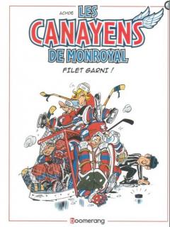 Les Canayens de Monroyal - okładka