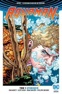 Aquaman – Utonięcie, tom 1 - okładka
