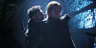 Oliver Queen vs. Slade Wilson