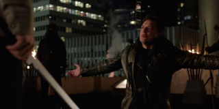 Green Arrow vs. Malcolm Merlyn