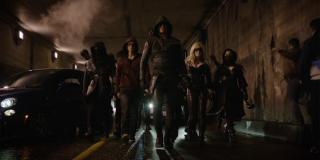 Arrow i Liga Assasynów vs. armia Deathstroke'a