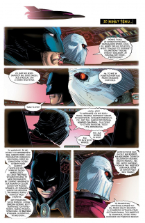 All-Star Batman #01. Mój największy wróg - plansza