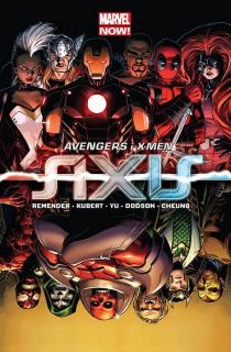 Avengers i X-Men - Axis - okładka